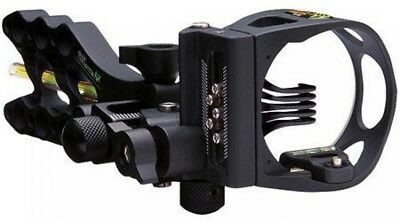 Apex Gear Bone Collector Gamechanger 5 Pin Bow Sight with Light, Black
