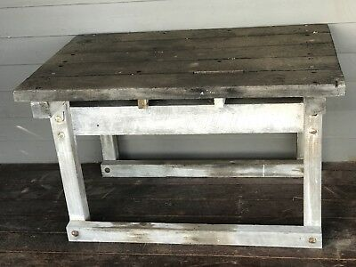 Solid Timber Work Bench