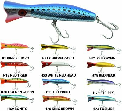 Halco Roosta Popper Fishing Lure - 160 Size