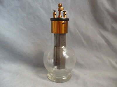 Early electric Poggendorff  wet grenet cell battery flaschenbatterie late 19th c
