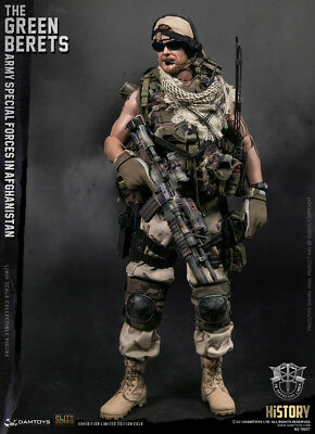 """DAM TOYS WF2018 """"THE GREEN BERETS"""" ARMY SPECIAL FORCES IN AFGHANISTAN 1/6 Figure"""