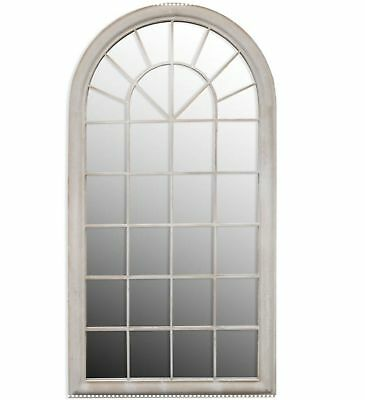 Large Rustic Arch Gothic Mirror Indoor Garden Outdoor Glass Vintage Wall Chic UK