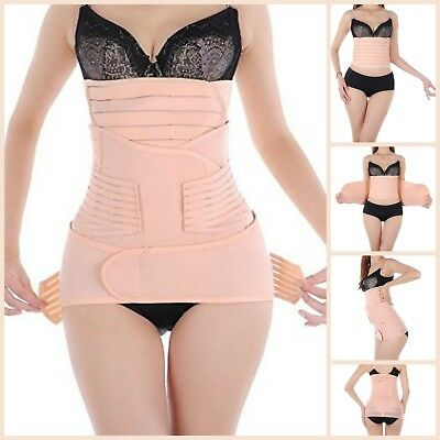 3n1 Postpartum Recover Belly Support Girdle Binder Belt For Maternity Shapewear