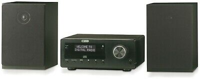 Acoustic Solutions Bluetooth DAB CD Micro System - Black (A-)