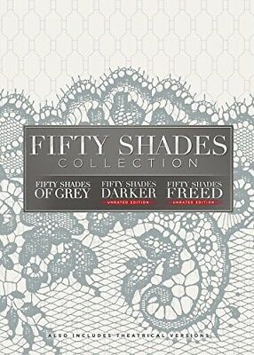Fifty Shades: 3-Movie Collection (REGION 1 DVD New)