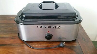 18-Quart Large Professional Hot Stone Heater in excellent condition