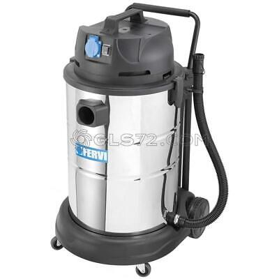 Industrial Wet Dry Vacuum Cleaner 230V 60L With Accessories Fervi A040/60A
