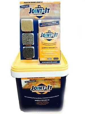 Paving Grout Joint it Easy All Weather Jointing Mortar 20Kg 3 Colours BESTBUY XL