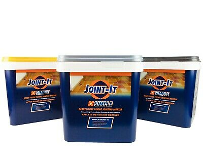 Joint it Easy Paving Grout Jointing Mortar Compound 20Kg (Landscaper's choice)