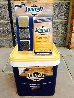 Joint it Easy Joint All Weather Stone Paving Jointing Compound 20Kg 3 Colours
