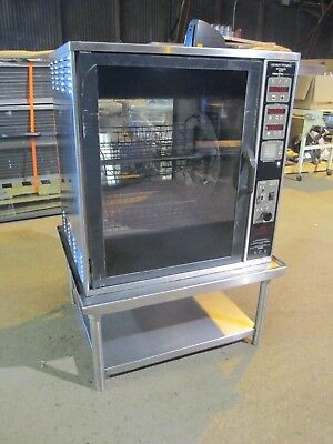 Henny Penny Scr-6 Rotisserie Oven Electric W/ Stand Baskets Grocery Commercial