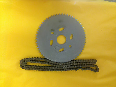 #9484 Go Cart Sprocket 60 sprocket for #35 chain  with 3ft of #35 chain