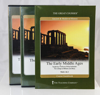 GREAT COURSES The Early Middle Ages CD