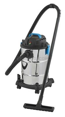Wet Dry Vacuum Cleaner 230V 30L With Accessories Fervi A025/30