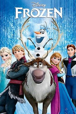 """""""Frozen""""... All Time Classic Children's Animated Movie Poster  Various Sizes"""