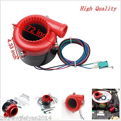 Car Fake Dump Electronic Turbo Blow Off Hooter Valve Analog Sound Simulator BOV