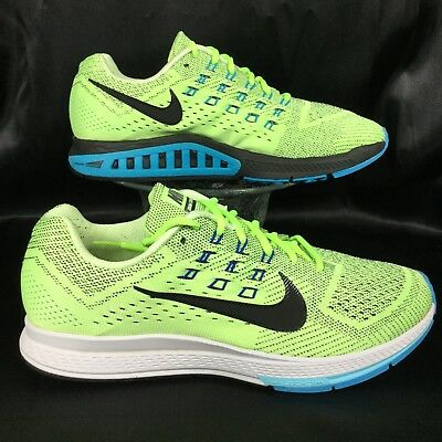 sneakers for cheap 52f67 ec5b3 NIKE ZOOM STRUCTURE 18 Ghost Green/Blue Lagoon/Game Royal running shoe  men's 10