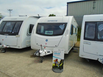 Sprite Major 6, 2012 Model, Single Axle, 6 Berth, Fixed Bunk Beds, Awning!!!