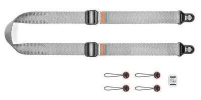 Peak Design Slide LITE in Ash Grey Sling Camera Strap SLL-AS-3 (UK Stock) BNIB