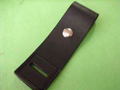 """Epaulet  Leather Strap 9""""  For  Microphone Remote Carrier"""