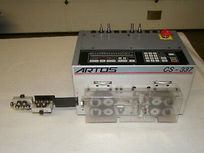 Artos CS-337 Programmable Wire Stripping Processing Machine (623)