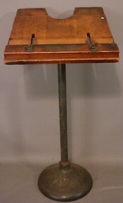Antique ART DECO BOWLING Ball ALLEY Salvage SCORE CARD Board STAND Retro LECTERN