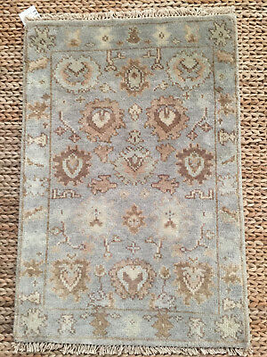 Oushak Hand Knotted 100% Wool Pile 2'x3'