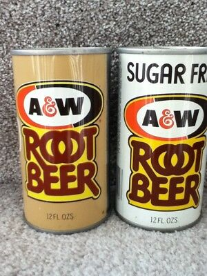 A&W Root Beer/Sugar Free Straight steel. No ml listed.