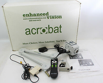 Enhanced Vision Acrobat Reader with Arm, Remote, and Manual