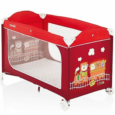 Cot camping Brevi Dolce Nanna Plus Red 349