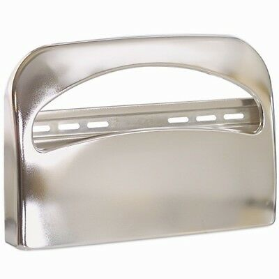 Georgia-Pacific 57725 Safe-T-Gard 1/2 Fold Toilet Seat Cover Dispenser, Chrome