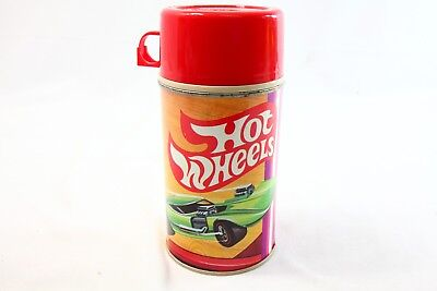VINTAGE 1969 HOT WHEELS REDLINE THERMOS RARE Condition Complete - EXCELLENT SS