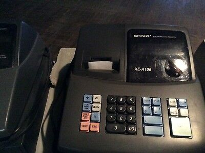Sharp XE-A106 Cash Register - Works Great