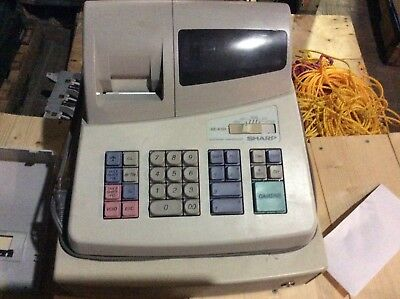Sharp XE-101 cash register looks and runs great