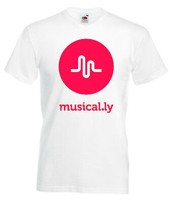 Musical.ly T-shirt Kids Short Sleeve