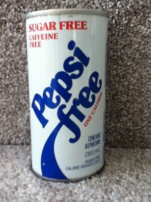 Pepsi Free from Canada. 280 ml, Straight steel with 2 hole punch tab.