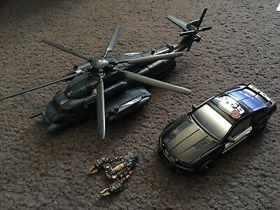 Transformers The Movie Premium Series Blackout and Barricade