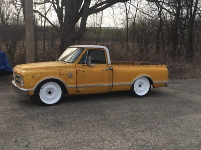 1967 Chevrolet C-10  1967 Chevy c10 short bed shop truck air ride manual 3 speed Texas truck