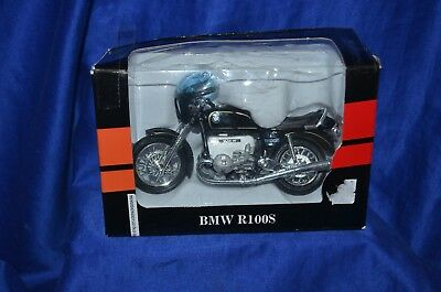 """COLLECTABLE WELLY """"BMW R100S"""" - Motorbike Model Scale 1:18"""