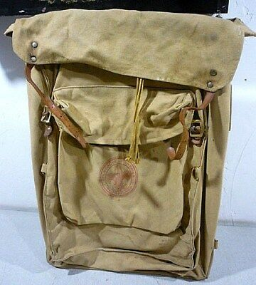 Vintage Boy Scouts of America Yucca Pack Backpack No. 1329 deluxe yucca 1970's