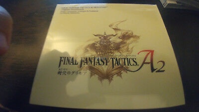 FINAL FANTASY TACTICS A2 THE SEALED GRIMOIRE  SOUNDTRACK CD MIya Records