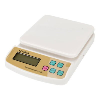Compact Digital Kitchen Scale Diet Food Postal Mailing 22LB/10KG x 1g For Heathy