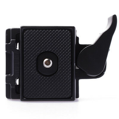 Quick Release Plate + Metal Clamp Adapter Set para Camera Tripod Ball Head DC465
