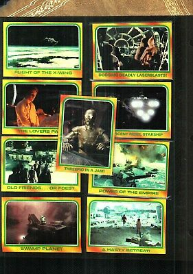 1980  Star Wars Empire Strikes Back Series 3 Finish Your Set Near Mint to Mint