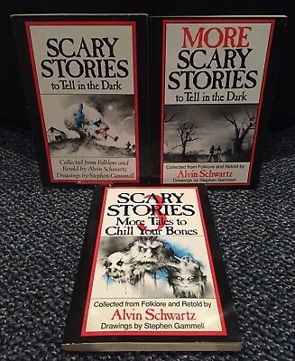 Scary Stories To Tell In The Dark More Tales Chill Your Bones Book Set 1