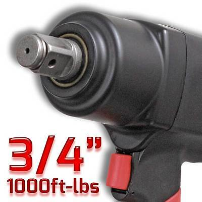 """3/4"""" Composite Air Impact Wrench 1000Ft-lbs"""