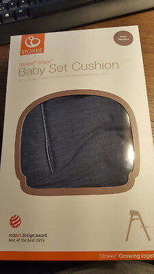 Stokke Steps Baby Set Cushion blau OVP