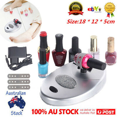 Electric Nail Lacquer Shaker Operate Nail Polish Paint Gel Bottle Shaker Machine