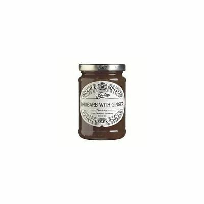 Tiptree Rhubarb And Ginger Conserve [340g] (4 Pack)