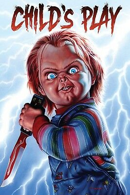 """""""CHILD'S PLAY"""" ..Classic Horror Movie Poster 2 Various Sizes"""